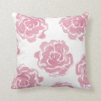ピンクのバラ クッション