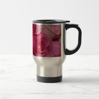 ピンクのバラ-タンブラー トラベルマグ