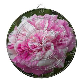 ピンクのバラ ダーツボード