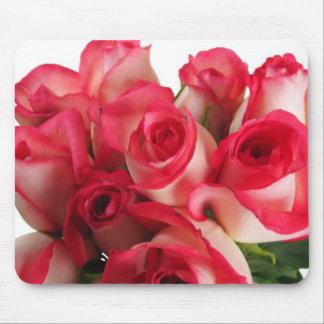 ピンクのバラ マウスパッド