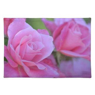 ピンクのバラ ランチョンマット