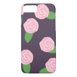 ピンクのバラ iPhone 8/7ケース
