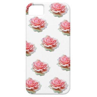 ピンクのバラ iPhone SE/5/5s ケース