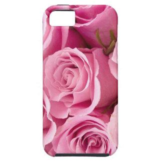 ピンクのバラiphone5の例 iPhone SE/5/5s ケース