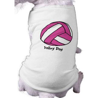 ピンクのバレーボール(カスタマイズ可能な) ペット服