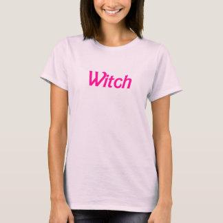 ピンクのバービーの魔法使いのTシャツ Tシャツ