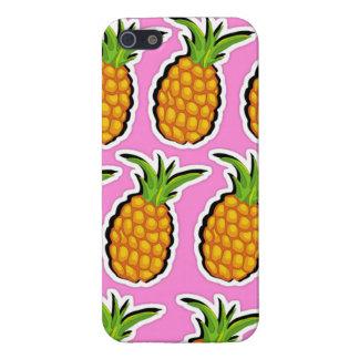 ピンクのパイナップル iPhone 5 ケース