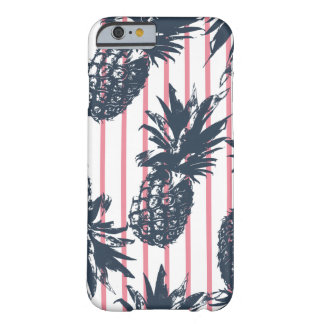 ピンクのパイナップルiPhone6ケース Barely There iPhone 6 ケース