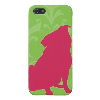 ピンクのパグ iPhone 5 COVER
