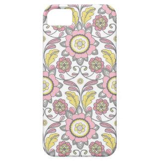 ピンクのパリの壁紙スクロール電話カバー! iPhone SE/5/5s ケース