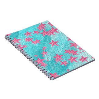 ピンクのヒトデ ノートブック