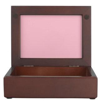 ピンクのヒマワリの抽象芸術 ジュエリーボックス
