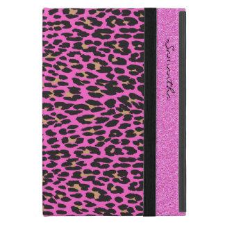 ピンクのヒョウのプリントのカスタムのiPad Miniケース iPad Mini ケース