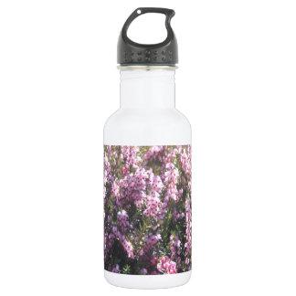 ピンクのヒース ウォーターボトル