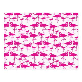 ピンクのピンクのフラミンゴ ポストカード