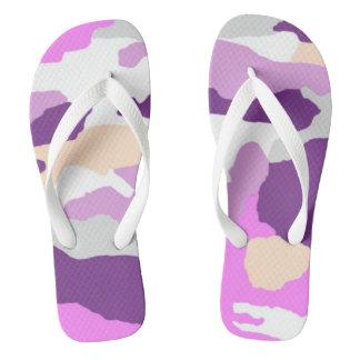 ピンクのファッションのカムフラージュのビーチサンダル ビーチサンダル