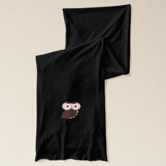 ピンクのフクロウのスカーフ スカーフ