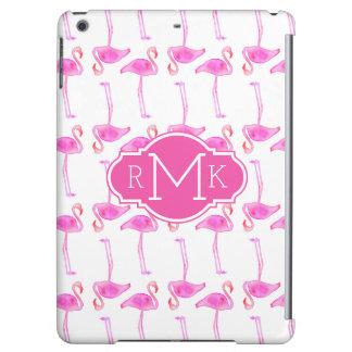 ピンクのフラミンゴパターン|モノグラム