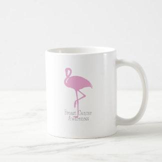 ピンクのフラミンゴ コーヒーマグカップ