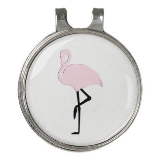 ピンクのフラミンゴ ゴルフハットクリップ