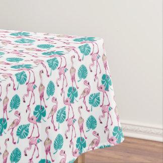 ピンクのフラミンゴ テーブルクロス