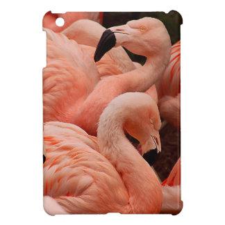ピンクのフラミンゴ iPad MINIカバー