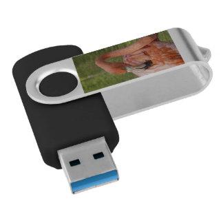 ピンクのフラミンゴ USBフラッシュドライブ