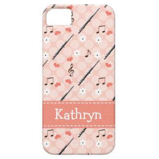 ピンクのフルート iPhone 5 CASE