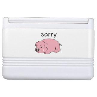 ピンクのブタのクーラーランプを泣いている私は残念な泣き叫びです IGLOO クーラーボックス