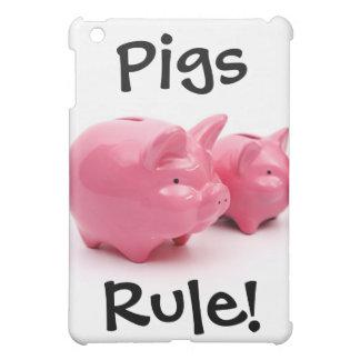 ピンクのブタの規則! iPad MINI CASE