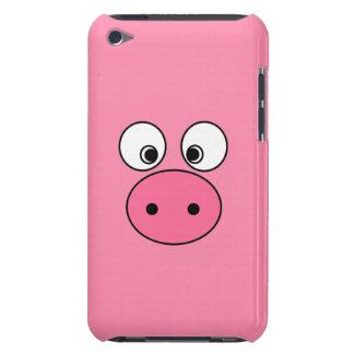 ピンクのブタの顔 Case-Mate iPod TOUCH ケース
