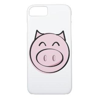 ピンクのブタのiPhone 7の場合 iPhone 8/7ケース