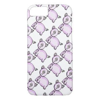 ピンクのブタパレード iPhone 8/7ケース