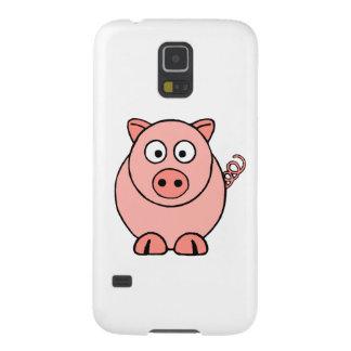 ピンクのブタ GALAXY S5 ケース