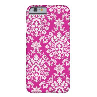 ピンクのブロケード BARELY THERE iPhone 6 ケース