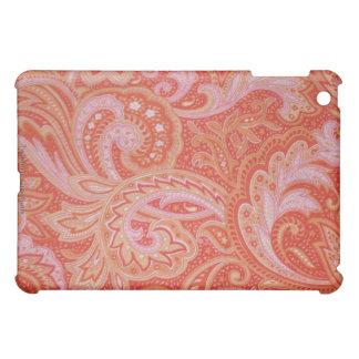 ピンクのペイズリーのiPadの場合 iPad Mini Case