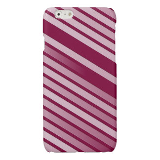 ピンクのペパーミントは縞で飾ります