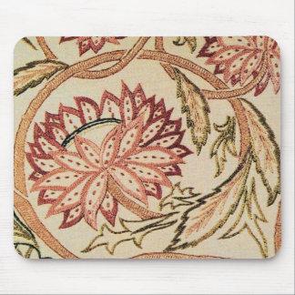 ピンクのボヘミアの花 マウスパッド