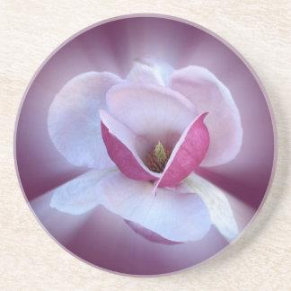 ピンクのマグノリアの陰 コースター