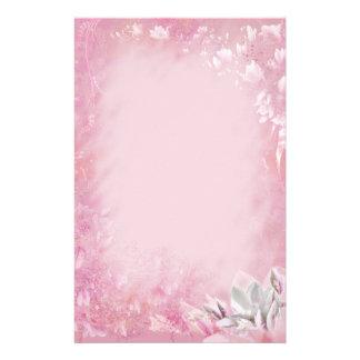 ピンクのマグノリア 便箋
