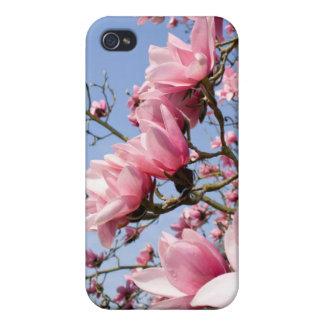 ピンクのマグノリア iPhone 4/4S ケース