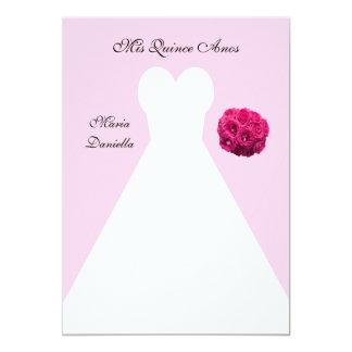 ピンクのマルメロAnosのキンセアニェラの服 カード