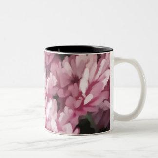 ピンクのミイラ ツートーンマグカップ