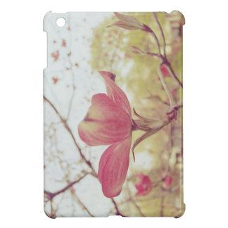 ピンクのミズキの花 iPad MINIカバー