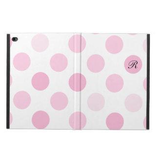 ピンクのモノグラムのスタイル POWIS iPad AIR 2 ケース