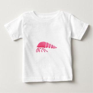 ピンクのヤドカリ ベビーTシャツ