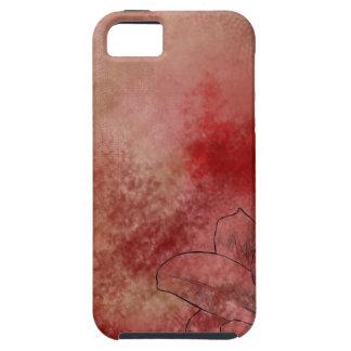 ピンクのユリ iPhone SE/5/5s ケース