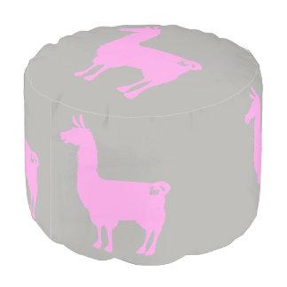ピンクのラマのPouf プーフ