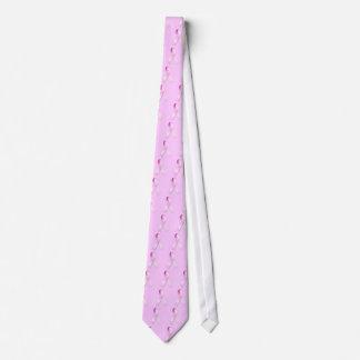 ピンクのリボンのタイ ネクタイ