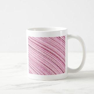 ピンクのリボンのマクロ コーヒーマグカップ